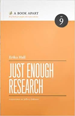 Just Enough Research Product Management Book