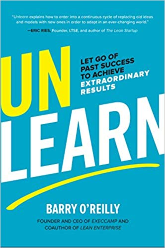 Unlearn Barry O'Reilly