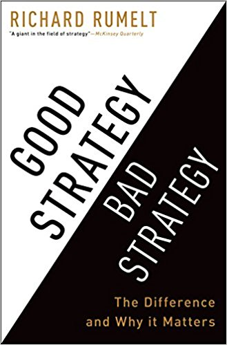 Good Strategy Bad Strategy Product Book Recommendation