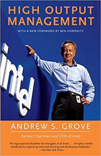 High Output Management Andy Grove