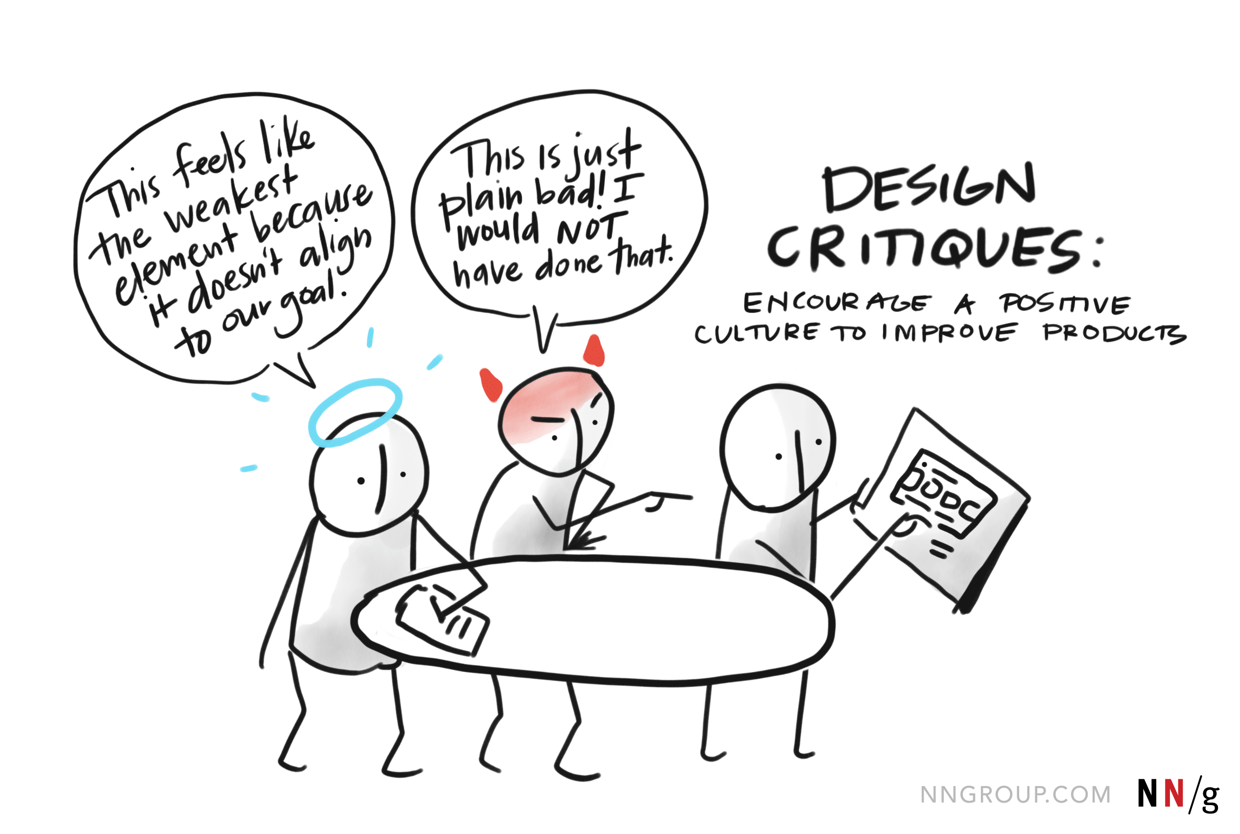Design Critique in Product Discovery Process