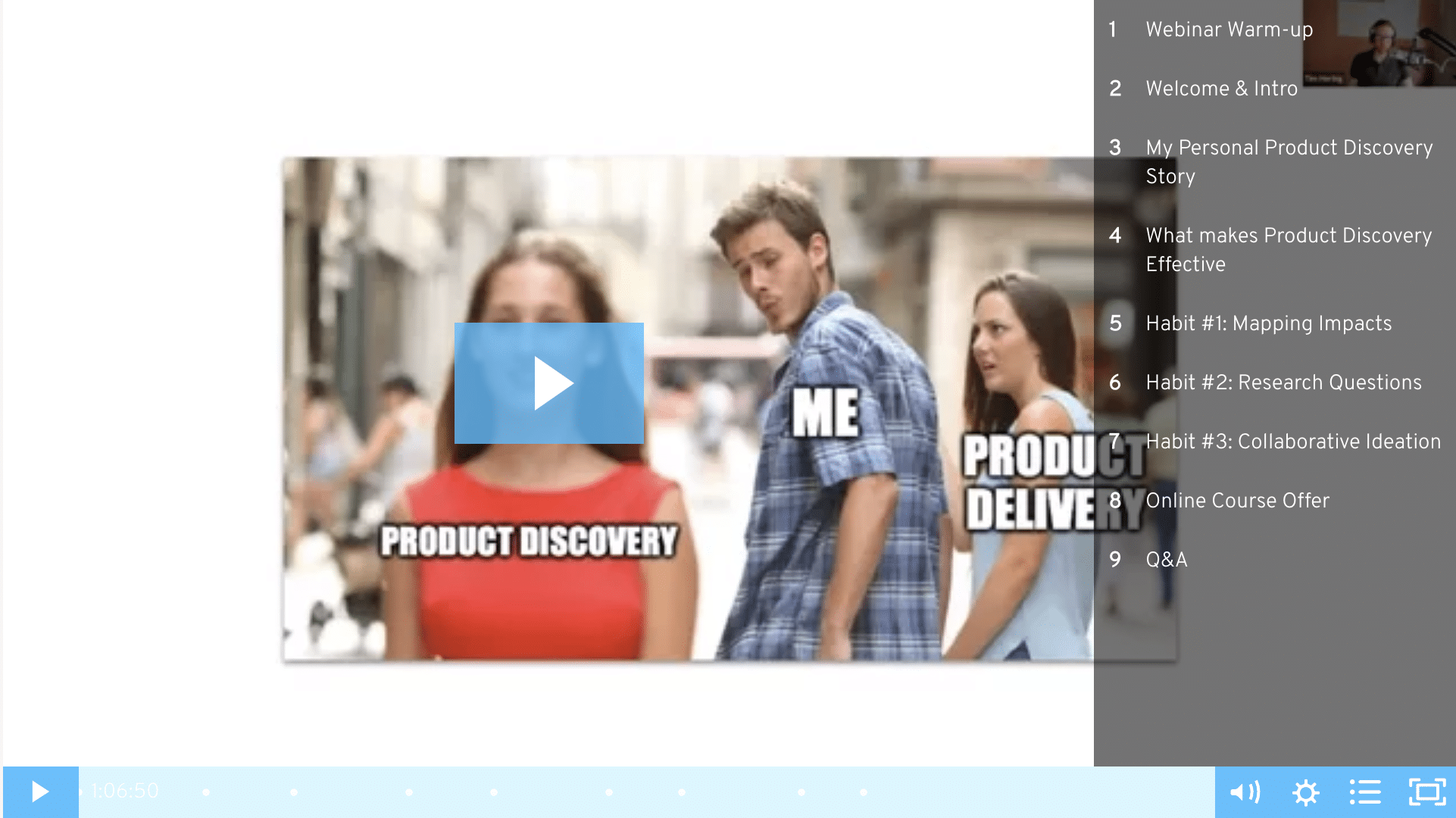 Product Discovery Habits Webinar Recording