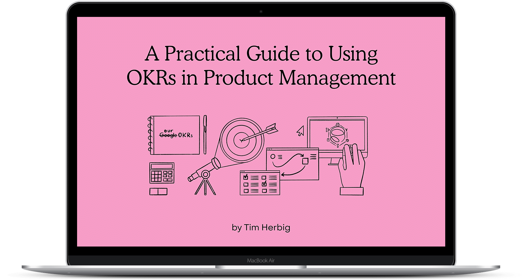 OKRs in Product Management eBook Opt-In Preview Image